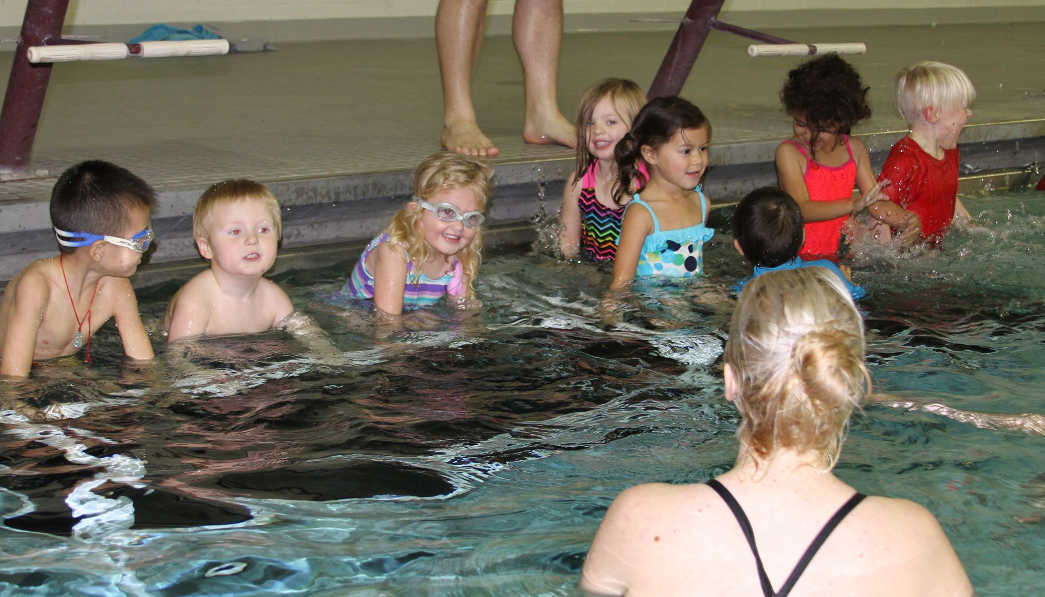 youth swim lessons