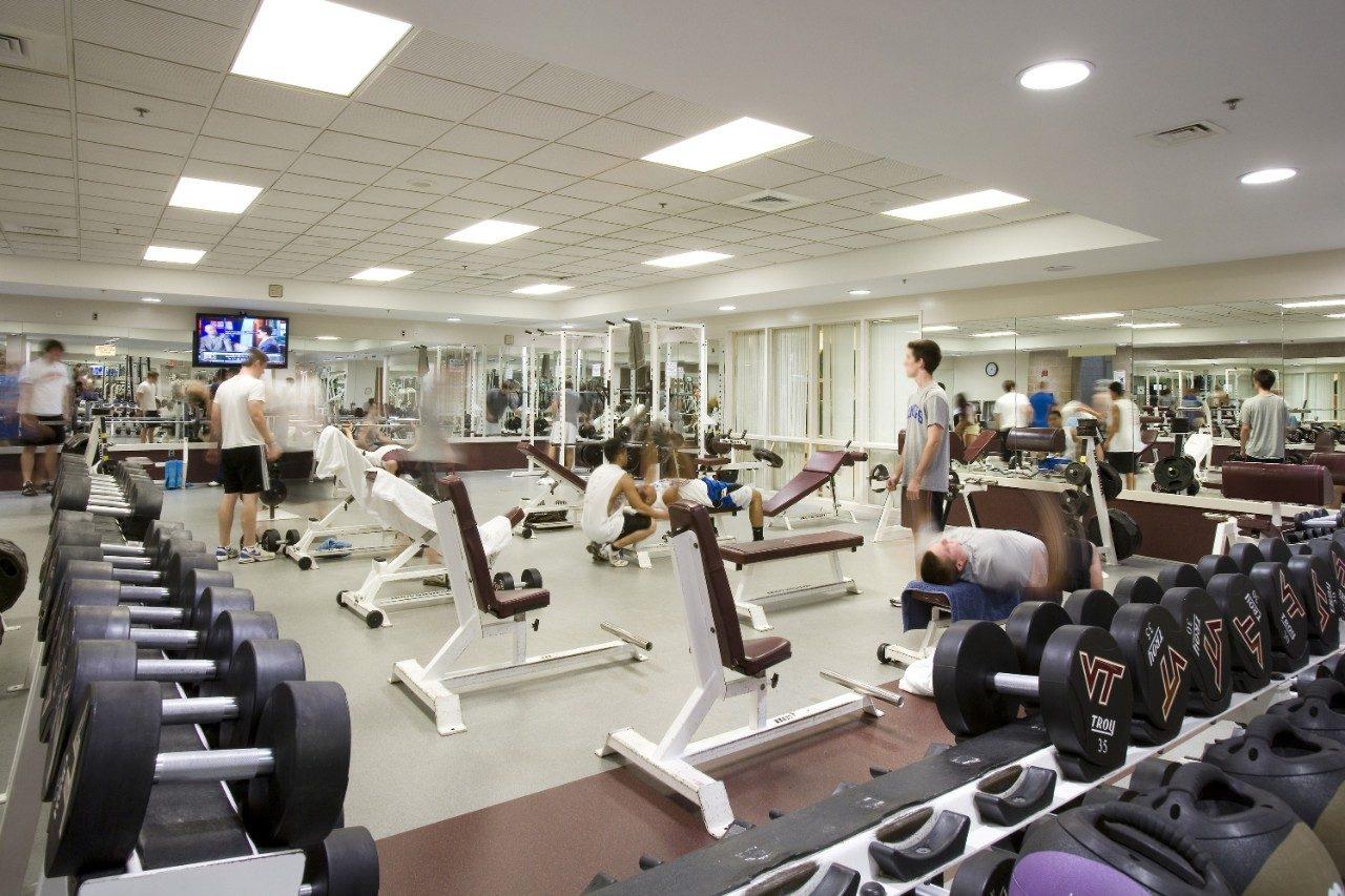 Mccomas hall recreational sports virginia tech