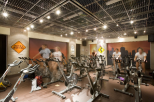 Spin City is the best place for a cycling workout.