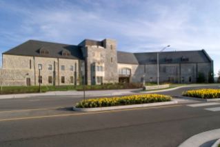 McComas Hall houses one of the gyms on campus as well as Schiffert Health Center, Cook Counseling Center, and Hokie Wellness.