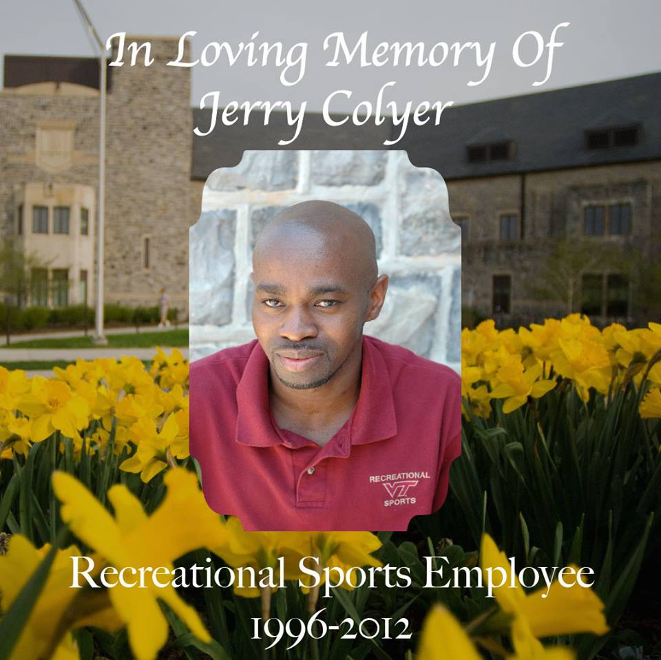 Memory of Jerry Colyer