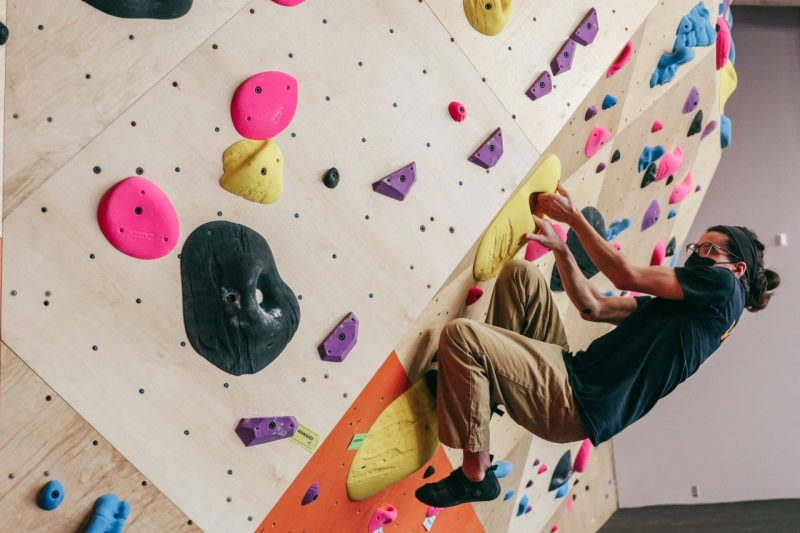Venture Out Center's Bouldering Wall